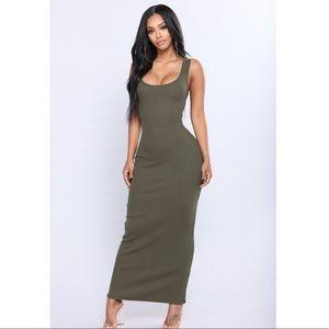 Fashion Nova Mulberry Street Maxi Dress